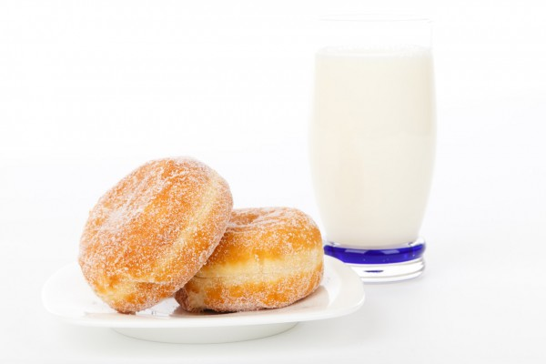 donuts-and-milk