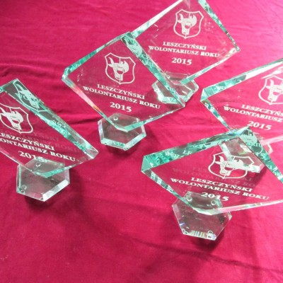 Nagrody dla wolontariuszy roku 2015