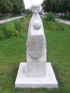 """Rzeźba """"Kasia"""" - Teraz"""