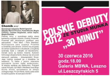 Polskie debiuty ze Studia Munka w MBWA Leszno