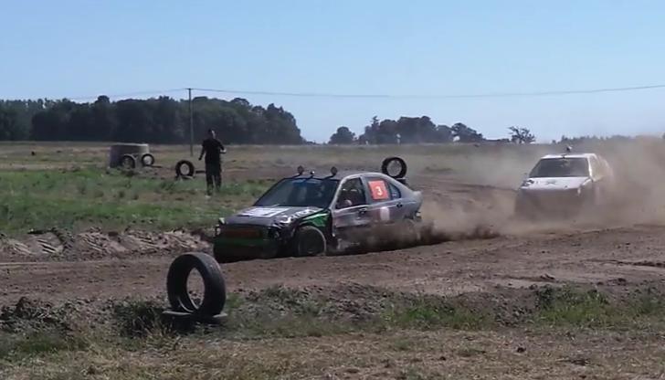 Wrak Race Leszno (wideo)
