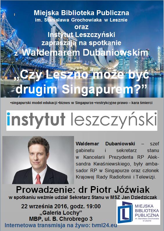 Waldemar Dubaniowski w Lesznie