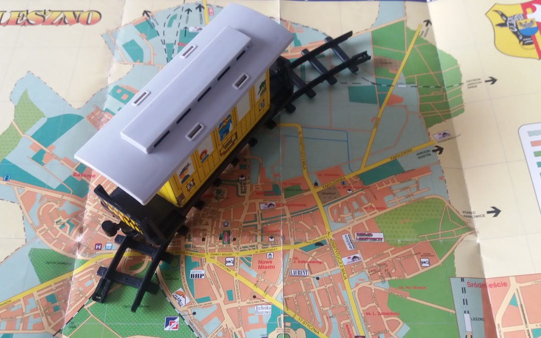 Kolej zawitała do Leszna