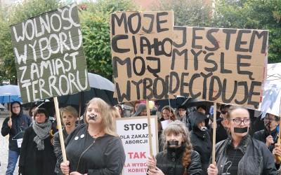 Czarny Protest w Lesznie (galeria)