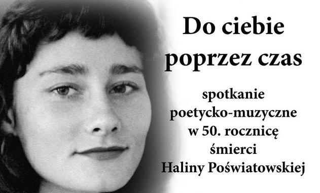 50 rocznica śmierci Haliny Poświatowskiej