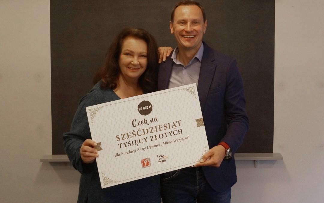 """Mieszkańcy Leszna wsparli fundację """"Mimo Wszystko"""""""