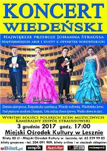 koncert wiedeński-plakat