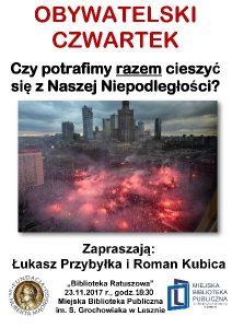 obywatelski czwartek-plakat