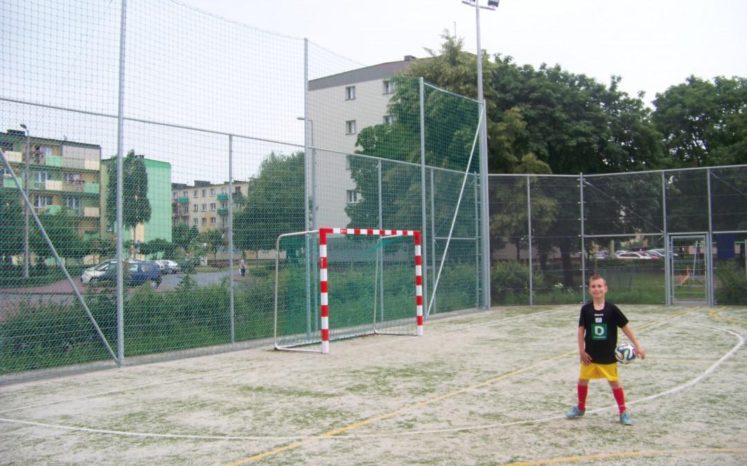 Nowe boisko przy Westerplatte